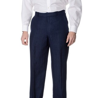 Palm Beach Men's Navy Flat Front Suit Separate Pants