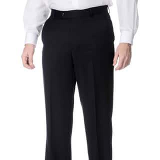 Palm Beach Men's Navy Wool Flat-front Pants|https://ak1.ostkcdn.com/images/products/8893125/P16114278.jpg?impolicy=medium