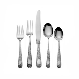 Old Maryland Sterling Silver Engraved 5-piece Place Setting