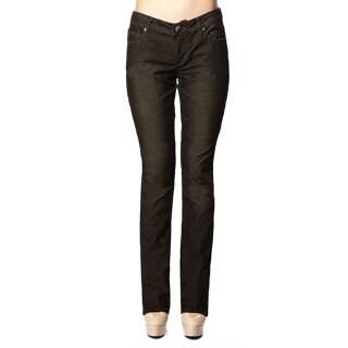 Stitch's Women's Black Low Waist Denim Skinny Ankle Jeans (As Is Item)