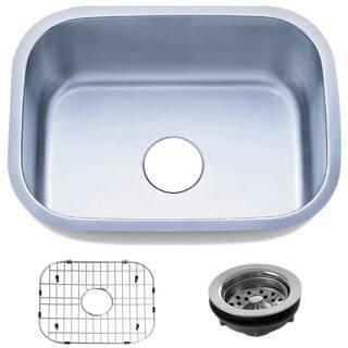 23.5-inch Stainless Steel 18 gauge Undermount Single Bowl Kitchen Sink Basket|https://ak1.ostkcdn.com/images/products/8893296/23.5-inch-Stainless-Steel-18-gauge-Undermount-Single-Bowl-Kitchen-Sink-Basket-P16114405.jpg?impolicy=medium
