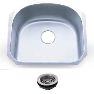 23.25-inch Stainless Steel 18-gauge Undermount Single Bowl Kitchen Sink|https://ak1.ostkcdn.com/images/products/8893310/23.25-inch-Stainless-Steel-16-gauge-Undermount-Single-Bowl-Kitchen-Sink-P16114406.jpg?impolicy=medium