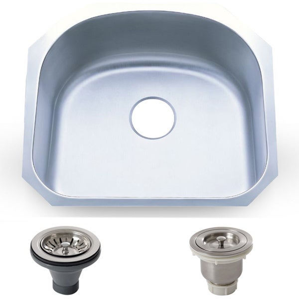 stainless steel kitchen sinks undermount 18 gauge shop 23 25 inch stainless steel 18 coated undermount 9782