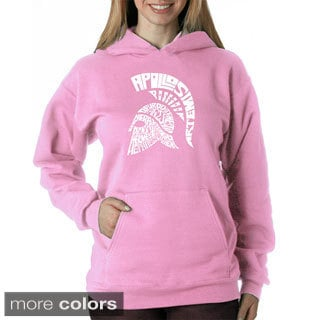 Los Angeles Pop Art Women's Spartan Sweatshirt
