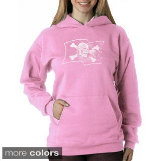 Los Angeles Pop Art Women's Pirate Flag Sweatshirt