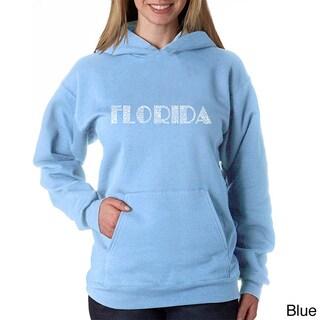 Los Angeles Pop Art Women's Florida Cities Sweatshirt (More options available)