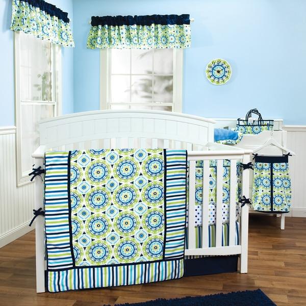 Shop Trend Lab Waverly Solar Flair 5 Piece Crib Bedding