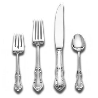 Joan Of Arc Sterling Silver 4-piece Place Setting
