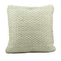 Mina Victory Woven Luster Light Green Throw Pillow (20-inch x 20-inch) by Nourison