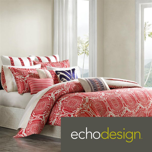 Echo Design Cozumel 4-piece Comforter Set with Optional Euro Sham Separate