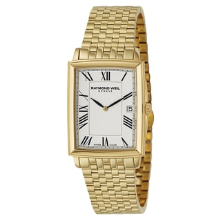 Raymond Weil Men's 'Tradition' Yellow Gold PVD Coated Stainless Steel Swiss Quartz Watch
