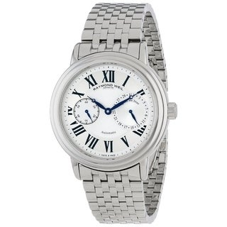 Raymond Weil Men's 'Maestro Automatic Small Second' Stainless Steel Swiss Mechanical Automatic Watch