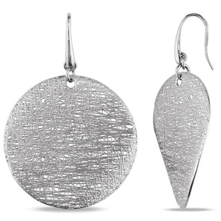 Miadora 18k White Gold Dangle Earrings