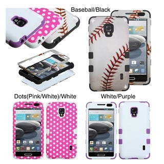 INSTEN TUFF Hybrid Phone Case Cover for LG D500 Optimus F6/ MS500 Optimus F6