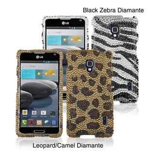INSTEN Diamante Phone Case Cover for LG D500/ MS500