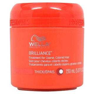 Wella Brillance 5.07-ounce Treatment for Coarse Color-treated Hair