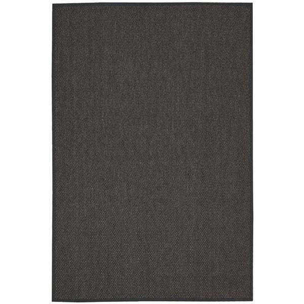 Calvin Klein Kerala Charcoal Grey Area Rug by Nourison - 8' x 10'