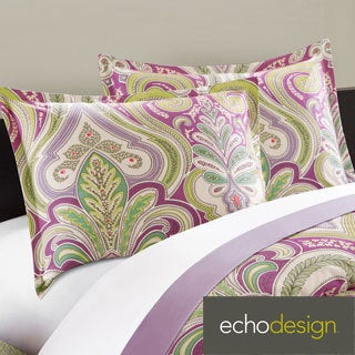 Echo Design Vineyard Paisley Cotton 3-piece Duvet Cover Set