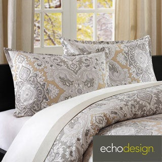 Echo Design Odyssey Cotton Paisley Duvet Cover With Sham
