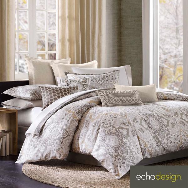 echo design odyssey cotton paisley 4piece comforter set