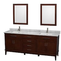 Shop Design Element London Inch Double Sink Espresso Vanity With - Bathroom furniture stores near me