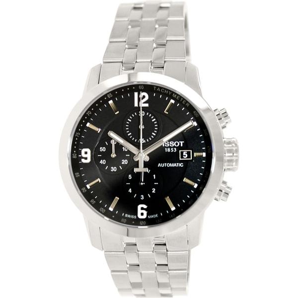 Shop Tissot Men s T0554271105700 Couturier Stainless Steel Watch ... 7c22d4074d6
