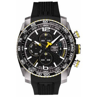 Tissot Men's Black Swiss Watch