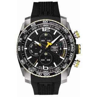Tissot Men's Black Swiss Watch|https://ak1.ostkcdn.com/images/products/8893832/P16114828.jpg?impolicy=medium