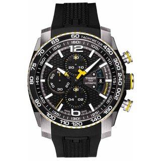 Tissot Men's Black Swiss Watch