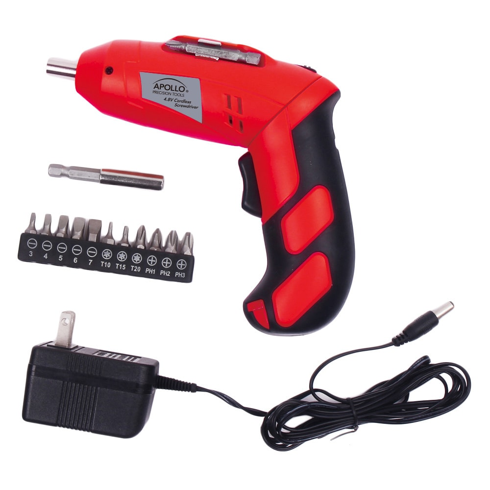 Apollo Tools Dt1036 4.8 V Powered Cordless Screwdriver