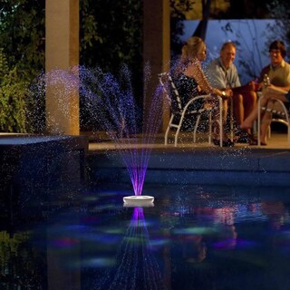 Aquajet Floating Pool Light Show and Fountain