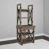 Avenue Greene Woodgate Wood Veneer Audio Stand/ Bookshelf