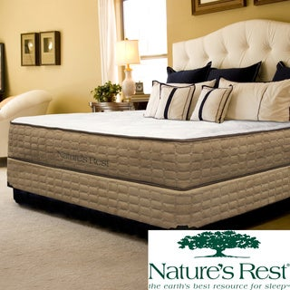 Natures Rest Unity Luxury Plush Full-size Latex Mattress Set