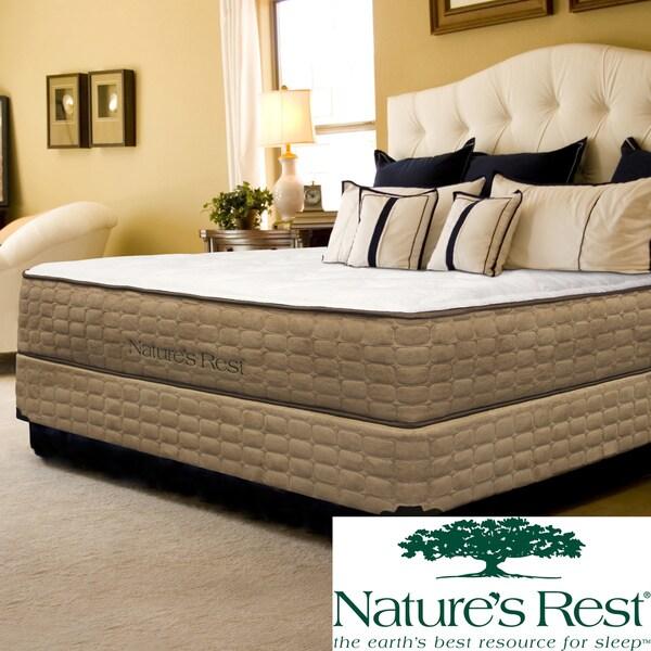 Natures Rest Unity Luxury Plush Full-size Latex Mattress Set