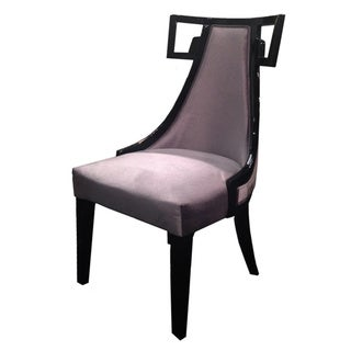 Skyline Grey Velvet Side Chair