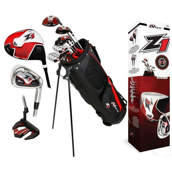 Nextt Golf Z1 17-piece Men's Bag and Club Set