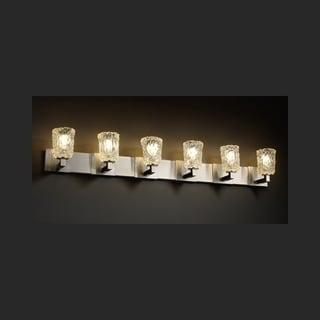 Justice Design Group Veneto Luce Modular 6-light Bath Bar