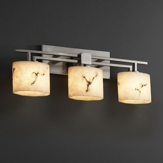 Justice Design Group LumenAria Aero 3-light Bath Bar