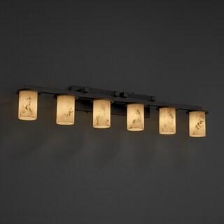 Justice Design Group LumenAria Dakota 6-light Bath Bar