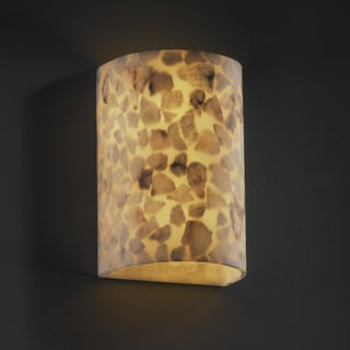 Justice Design Group Alabaster Rocks! 2-light Large Wall Sconce