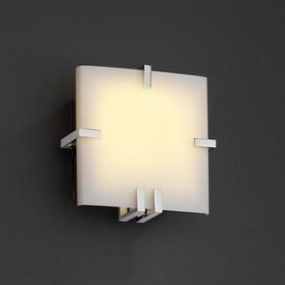 Justice Design Group Fusion Clips 1-light Wall Sconce