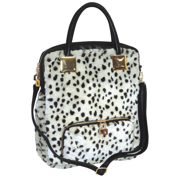 44ff265cde Shop Adrienne Landau Snow Leopard Shopper Tote - Free Shipping Today ...