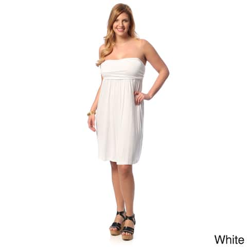 Buy White Women\'s Plus-Size Dresses Online at Overstock | Our Best ...