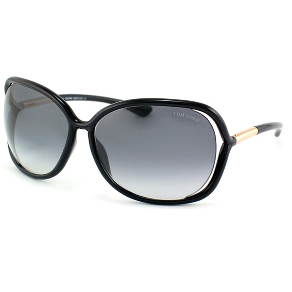 b364f85d62 Shop Tom Ford Women s  TF 76 Raquel 199  Oversize Sunglasses - Free ...