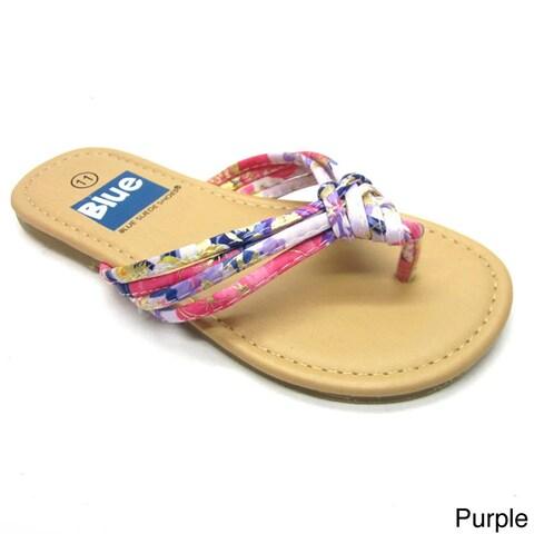 Blue Children's K-Kisa Flip Flops