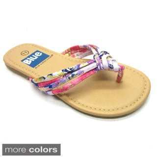 Blue Children's K-Kisa Flip Flops