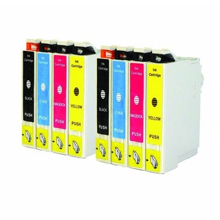 Replacement Epson 69 T069 T069120 T069220 T069320 T069420 Compatible Ink Cartridge (Pack Of 8 :2K/2C