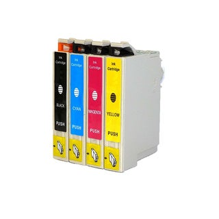 Replacement 200 T200XL T200120 T200220 T200320 T200420 Epson XP-200 XP-300 XP-400 WF-2520 WF-2530 2540 Ink Cartridge (Pack of 4)