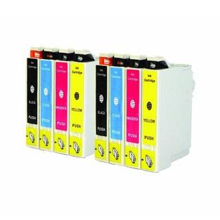 Replacement 200 T200XL T200120 T200220 T200320 T200420 Epson XP-200 XP-300 XP-400 WF-2520 WF-2530 2540 Ink Cartridge (Pack of 8)