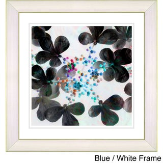 Zhee Singer 'Summer Walk Floral' Framed Fine Art Print (More options available)